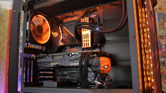 Project Deathstroke Asus ROG pc-build